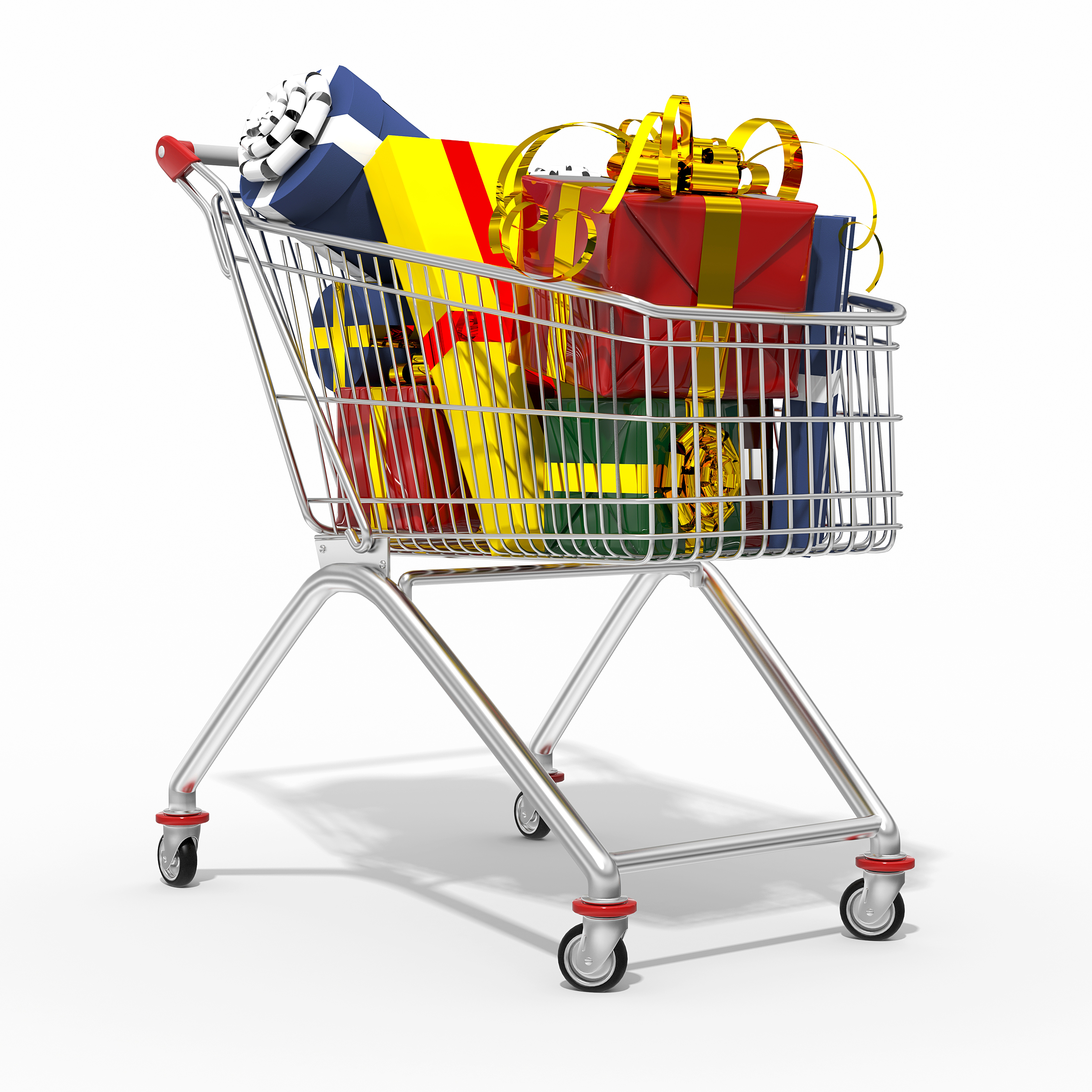 1424-Photorealistic-D-shopping-cart